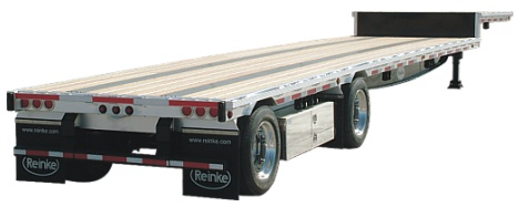 Reinke Drop Deck Trailer